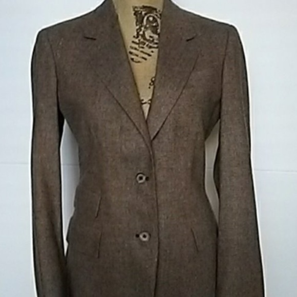 Austin Reed Jackets Coats Austin Reed Tweed Blazer Light Brown Poshmark